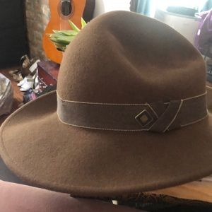Brown wool Goorin Brothers Hat